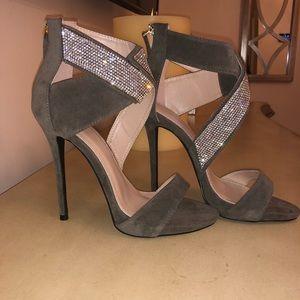 Hunter Green&Diamond Heels